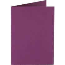(No. 206909) 50x kaart dubbel staand Original 148x210mmA5 aubergine 200 grams (FSC Mix Credit)