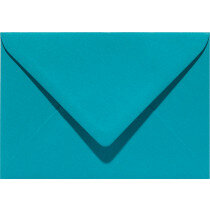 (No. 237932) 50x envelop 114x162mm-C6 Original turkoois 105 grams (FSC Mix Credit) OP=OP