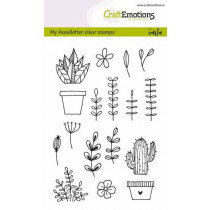 (No. 130501/1298) CraftEmotions clearstamps A6 - My Handletter clear stamps - Carla Kamphuis