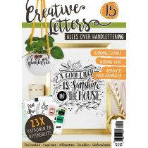 (No. 9127) Tijdschrift Creative Letters 15 - handlettering