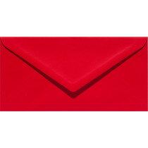 (No. 238918) 50x envelop 110x220mm-DL Original rood 105 grams (FSC Mix Credit)