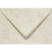 (No. 23762) 50x envelop Marble 114x162mm-C6 ivoor 90 grams