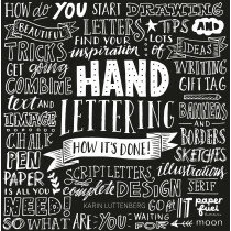 (No. 840600) Handlettering how it's done Engelse versie