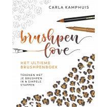 (No. 840500) Het ultieme brushpenboek - Brushpen Love