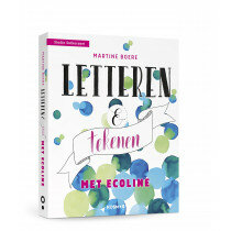 (No. 820900) Letteren en tekenen met ecoline