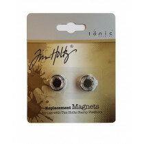 (No. 130508/1709) Tonic Studios Tools - 2 magneten voor stamping platform 1708e