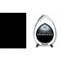 (No. 132020/1900) Memento Dew Drop inktkussen Tuxedo Black