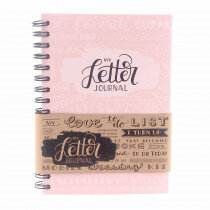 (No. 830104) A5 Bulletjournal 'My Letter Journal' Blossom