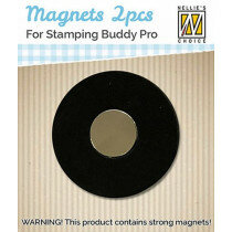 (No. 130509/0203) Nellie's Choice 2 magneten voor Stamping Buddy Pro