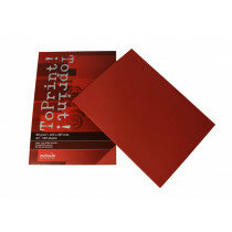 (No. 7128309) 100x papier ToPrint 80gr 210x297mm-A4 Red(FSC Mix Credit) -UITLOPEND-