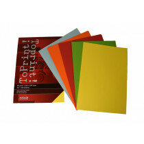 (No. 7128385) 5x50 felle kleuren papier ToPrint 80gr 210x297mm-A4 Assorti(FSC Mix Credit)
