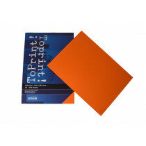 (No. 7138308) 100x papier ToPrint 120gr 210x297mm-A4 Orange(FSC Mix Credit)