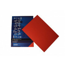 (No. 7138309) 100x papier ToPrint 120gr 210x297mm-A4 Red(FSC Mix Credit) - UITLOPEND-