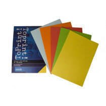 (No. 7138385) 5x50 kleuren papier ToPrint 120gr 210x297mm-A4 Assorti(FSC Mix Credit) - UITLOPEND-