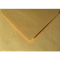 (No. 302333) 3x envelop Original Metallic 114x162m-C6 Super Gold 120 grams