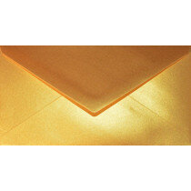 (No. 238339) 50x envelop Original Metallic 110x220mm-DL Gold Platinum 120 grams (FSC Mix Credit)
