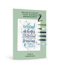 (No. 840400) Brushlettering voor iedereen - oefenschrift 2
