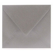 (No. 328340) 6x envelop Original Metallic 125x140mm Pearl Platinum 120 grams