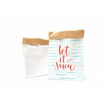 (No. 82107) Set a 2 Small Paperbag Blanco designed by Carla Kamphuis