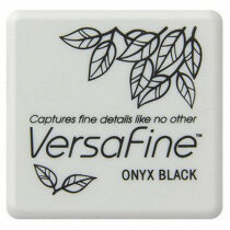 (No. 132015/6082) Versafine inktkussen Onyx black