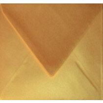 (No. 303339) 6x envelop Original Metallic 140x140mm Gold Pearl 120 grams