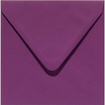 (No. 258909) 50x envelop Original 140x140mm aubergine 105 grams (FSC Mix Credit)