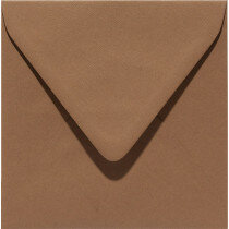 (No. 258939) 50x envelop Original 140x140mm nootbruin 105 grams (FSC Mix Credit)