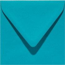 (No. 258932) 50x envelop Original 140x140mm turkoois 105 grams (FSC Mix Credit)