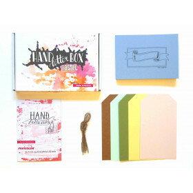 (No. 810002) DIY Handletterbox 'Studio Suikerzoet' - OP=OP -