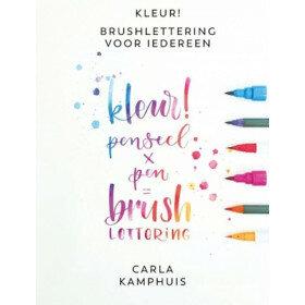 (No. 840100) Kleur! Brushlettering voor iedereen