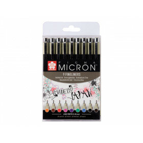 (No. POXSDK059) Pigma Micron 0.45mm 9 st.
