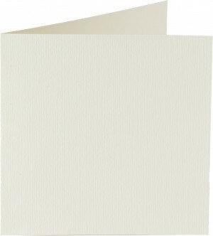 (No. 329903) 6x kaart dubbel staand Original 120x132mm anjerwit 200 grams (FSC Mix Credit)
