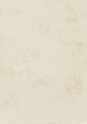 (No. 30062) A4 papier Marble ivoor -90 grams-12 vellen