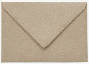 (No. 235322) 50x envelop 156x220mm- EA5 recycling grijs 100 grams (FSC Recycled 100%)