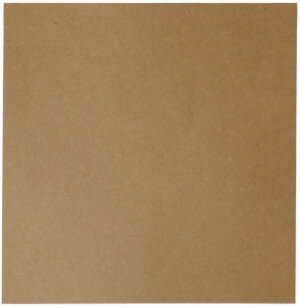 (No. 264323) 50x scrap karton recycled kraft bruin 302 x 302 mm - 220 grams (FSC Recycled 100%)