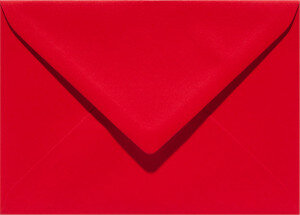 (No. 263918) 50x envelop Original 125x140mm rood 105 grams (FSC Mix Credit)