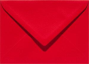 (No. 328918) 6x envelop Original 125x140mm rood 105 grams (FSC Mix Credit)