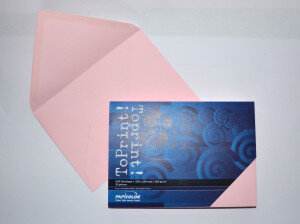 (No. 2358302) 25x envelop 156x220mm-A5 ToPrint roze 120 grams (FSC Mix Credit)