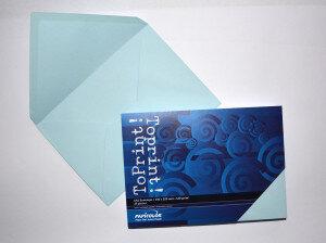 (No. 2358314) 25x envelop 156x220mm-A5 ToPrint lichtblauw 120 grams (FSC Mix Credit)