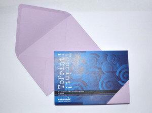 (No. 2358336) 25x envelop 156x220mm-A5 ToPrint lila 120 grams (FSC Mix Credit)