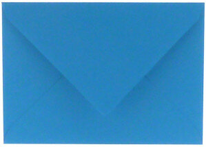 (No. 235965) 50x envelop 156x220mm EA5 Original korenblauw 105 grams FSC Mix Credit)