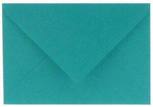 (No. 237966) 50x envelop 114x162mm C6 Original - turquoise 105 grams (FSC Mix Credit)