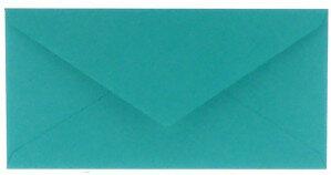(No. 238966) 50x envelop 110x220mm DL Original turquoise 105 grams (FSC Mix Credit