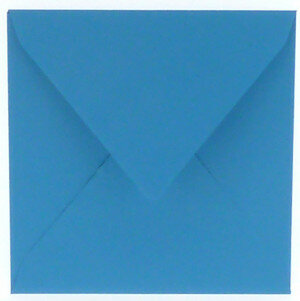 (No. 240965) 50x envelop 160x160mm Original korenblauw 105 grams (FSC Mix Credit)