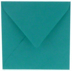 (No. 240966) 50x envelop 160x160mm Original turquoise 105 grams (FSC Mix Credit)