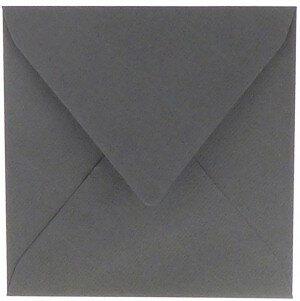 (No. 304971) 6x envelop 160x160mm Original donkergrijs 105 grams (FSC Mix Credit)