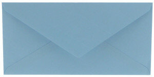 (No. 305964) 6x envelop Original 110x220mm DL lichtblauw 105 grams (FSC Mix Credit)