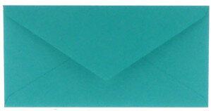 (No. 305966) 6x envelop Original 110x220mm DL turquoise 105 grams (FSC Mix Credit)