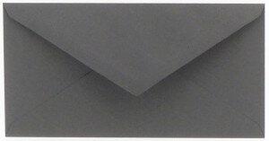 (No. 305971) 6x envelop Original 110x220mm DL donkergrijs 105 grams (FSC Mix Credit)