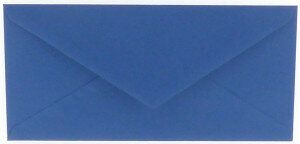 (No. 305972) 6x envelop Original 110x220mm DL royal blue 105 grams (FSC Mix Credit)